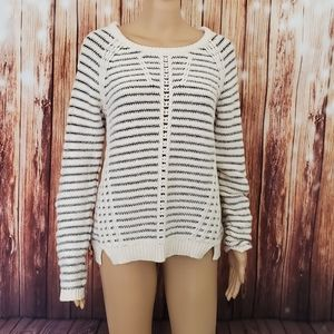 Anthropologie Sparrow Sweater L Beige
